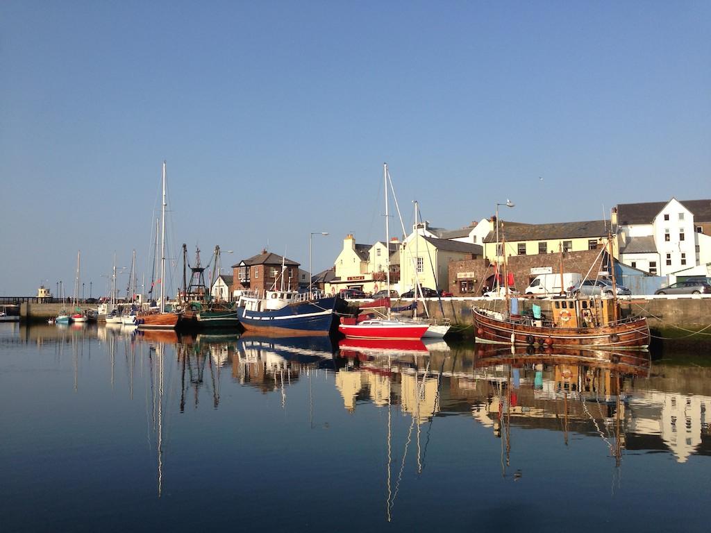 Der Hafen von Peel