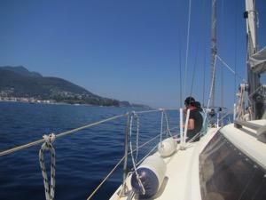 anfahrt nach ischia