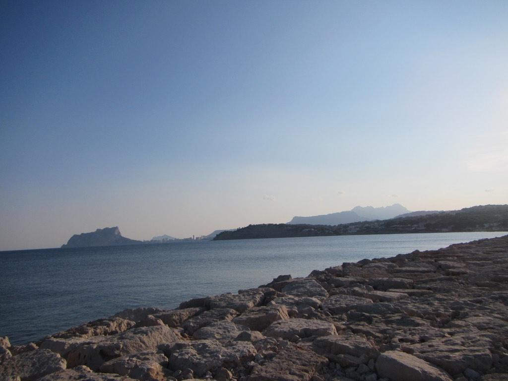 Blick von Moraira nach Süden