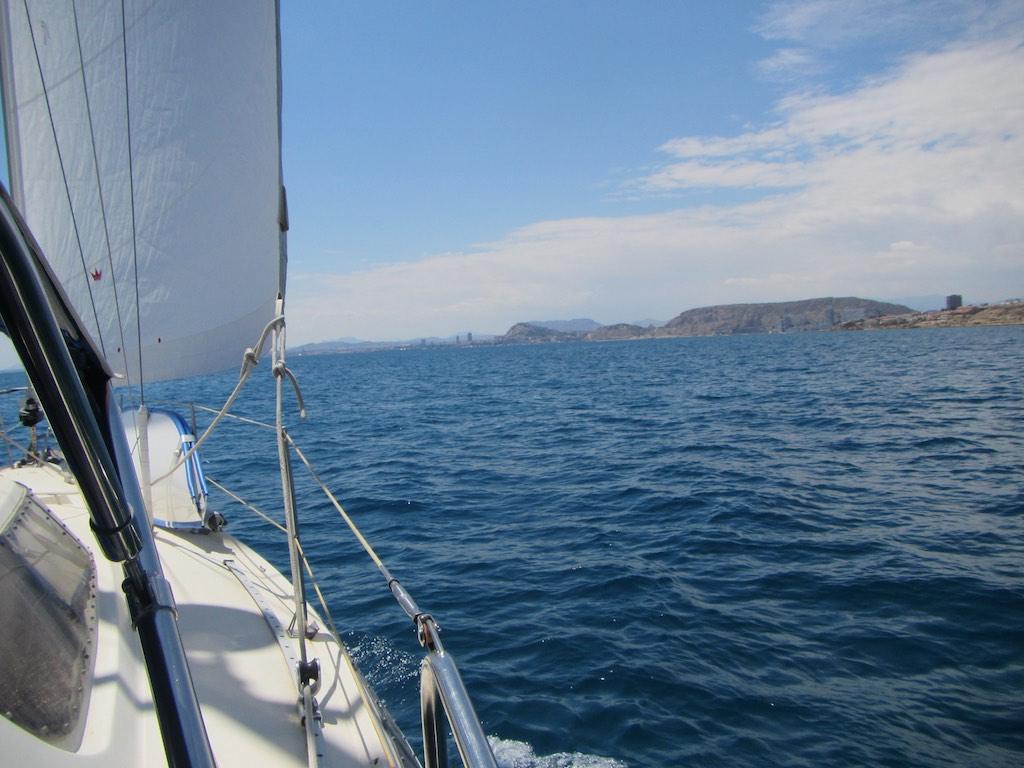 In Richtung Alicante