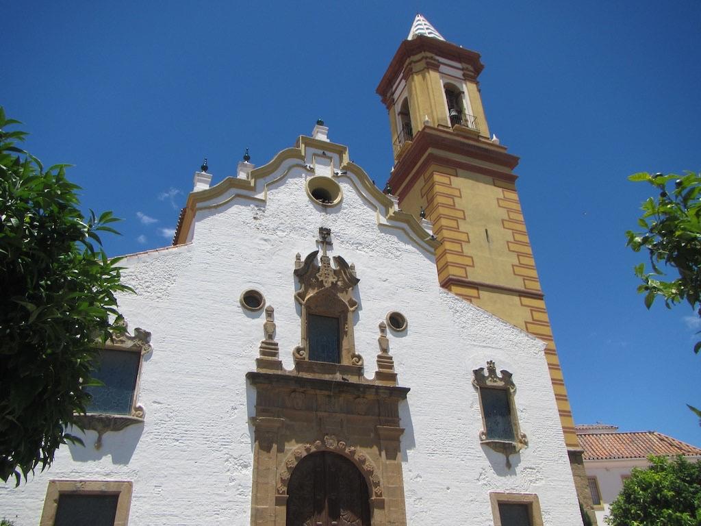 Die Kirche von Estepona