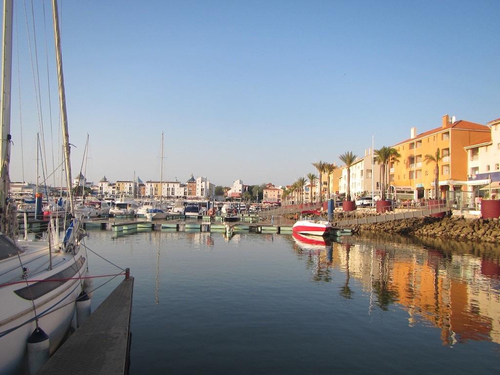 Unser Platz in der Marina von Vilamoura