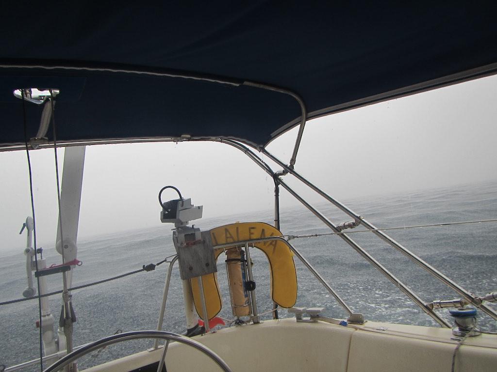 Gewitter vor Grenada