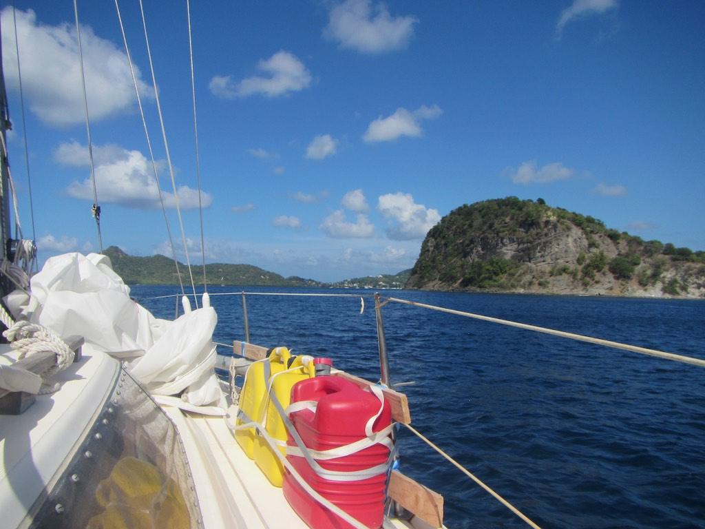 Anfahrt zur Tyrrel Bay