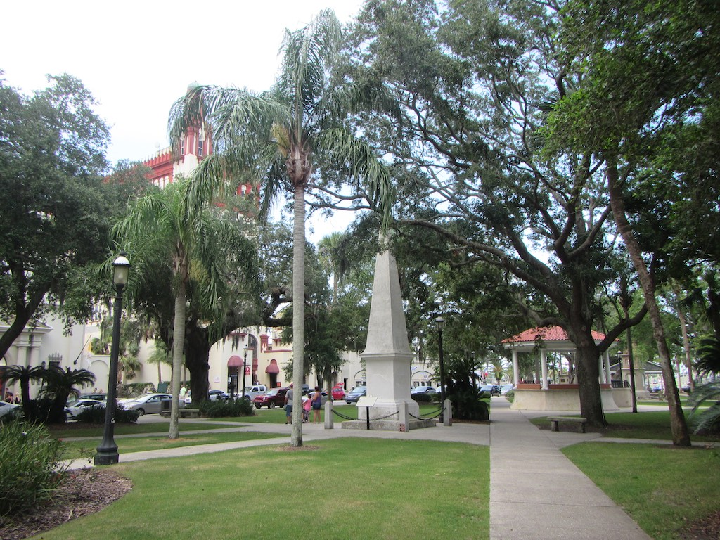 Der Centralpark von St. Augustine