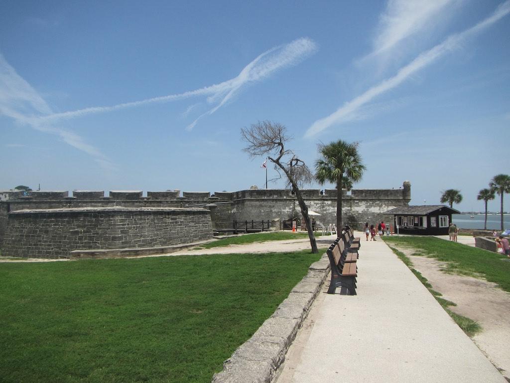 Der Eingang zum Castillo de San Marcos