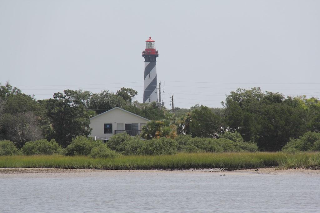 Der Leuchtturm von St. Augustine