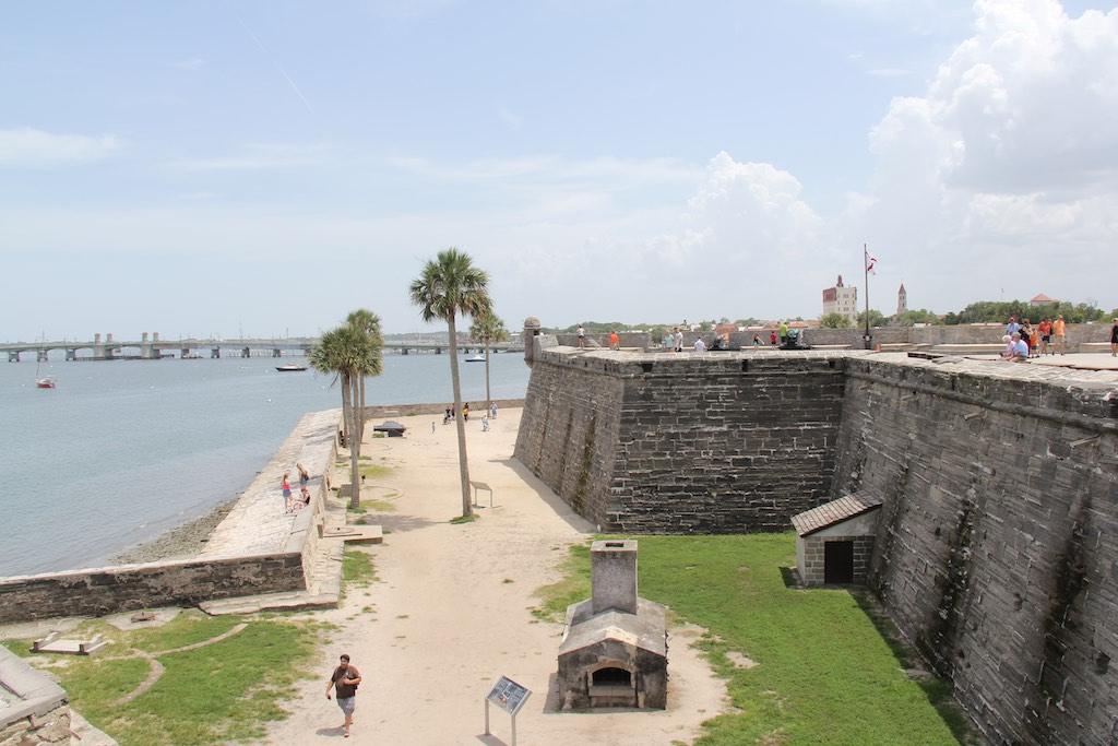 Die Festung mit der Brücke