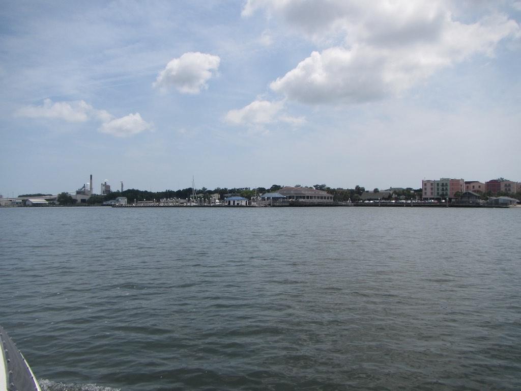Fernandina Beach mit der Industrie