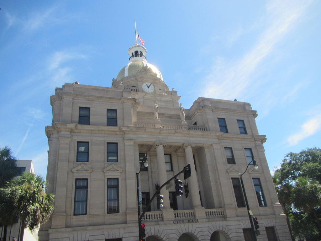 Das Stadthaus von Savannah