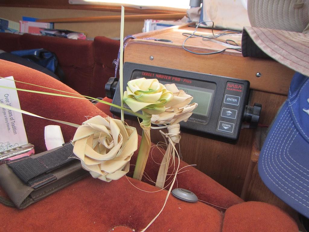 Schöne Geschenke, Palmblätter Rosen