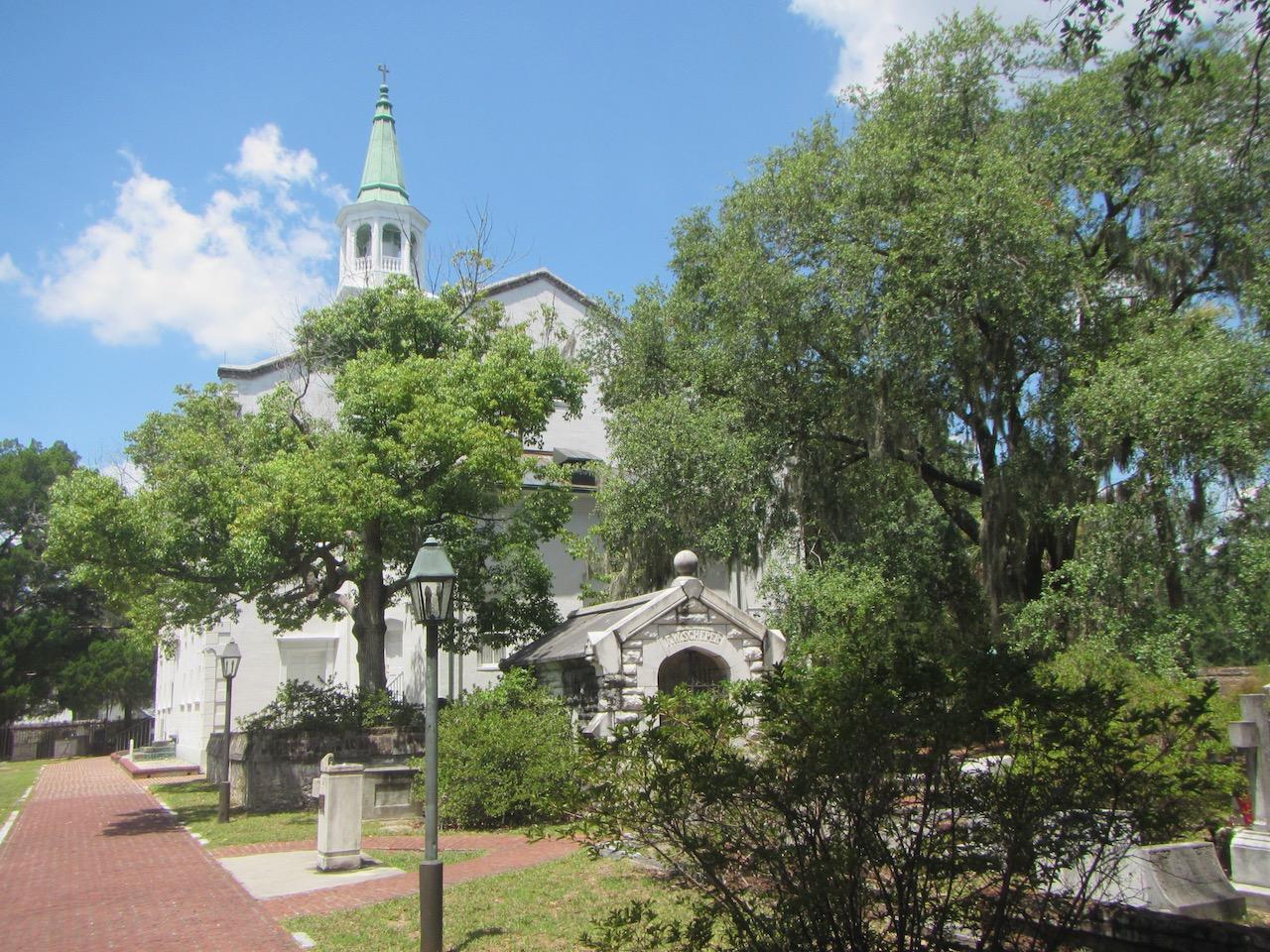 Stolze Kirche der Stadt