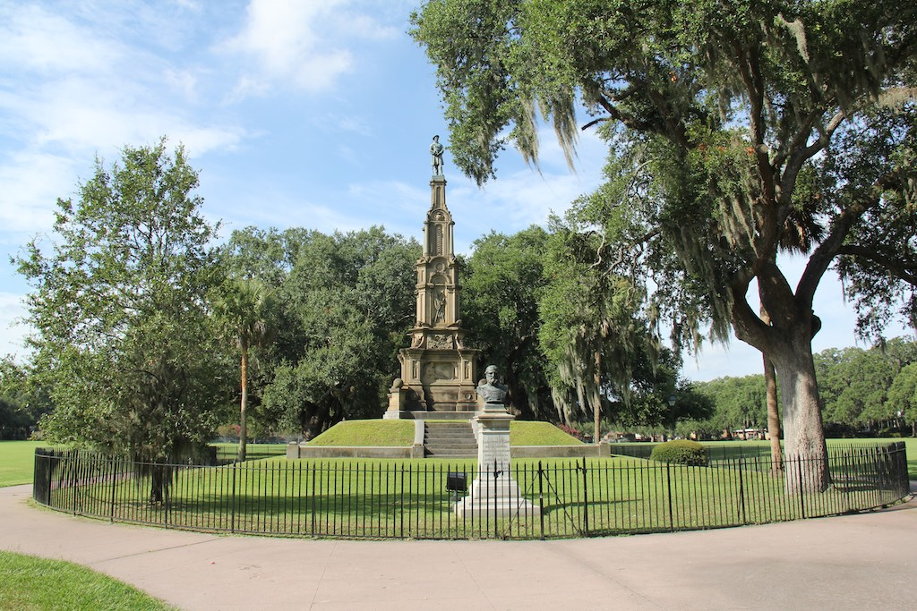 Das Denkmal des Sezessionskrieg
