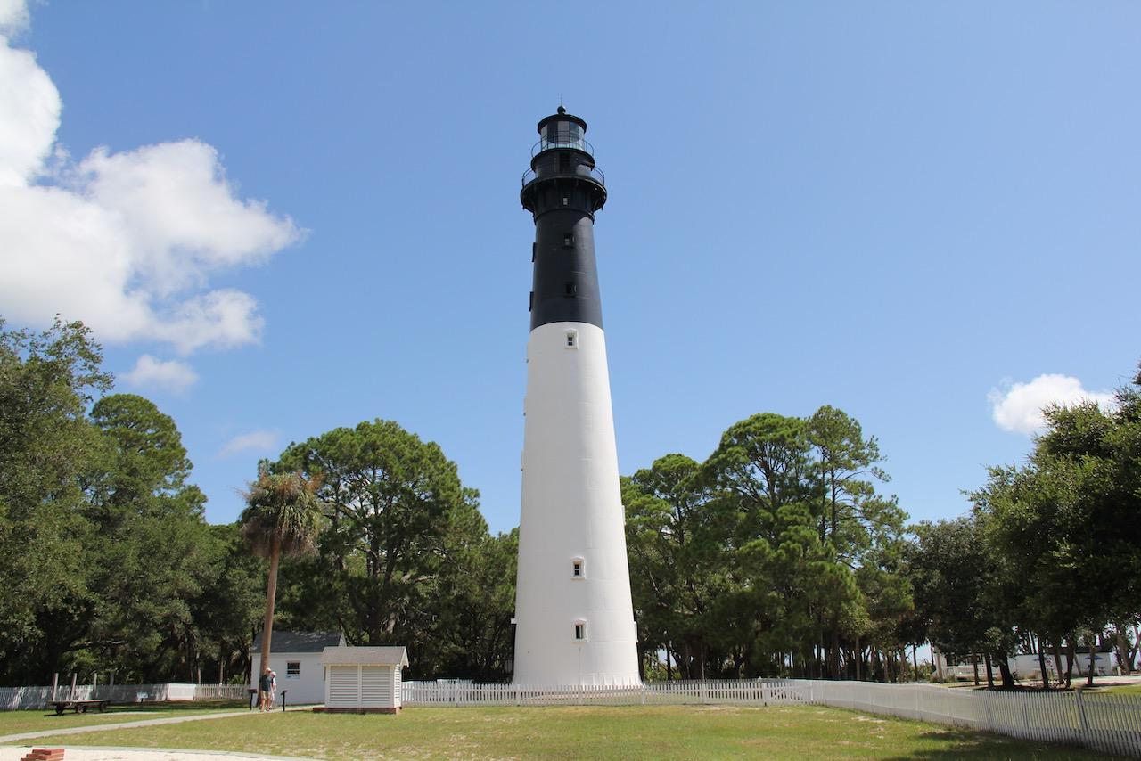 Stolzes Ding, der Leuchtturm von Hunting Island