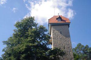 Gute Lage, der Schütteturm